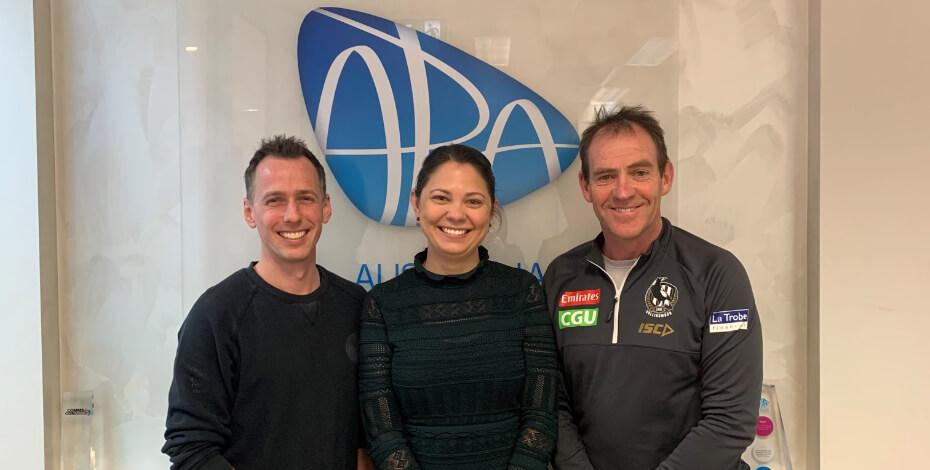 AFL Collingwood physios - talking physio podcast